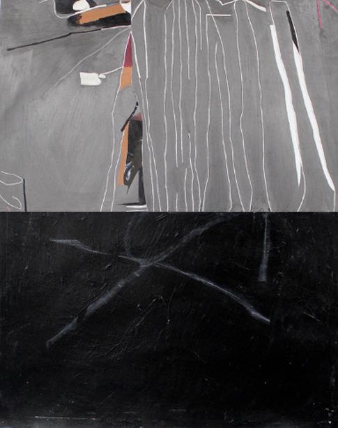 Sans titre, 2011, Tm sur papier, 71 x 55 cm