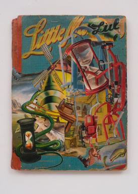 Little Lulu, 2014, collage, 25.5 x 19 cm