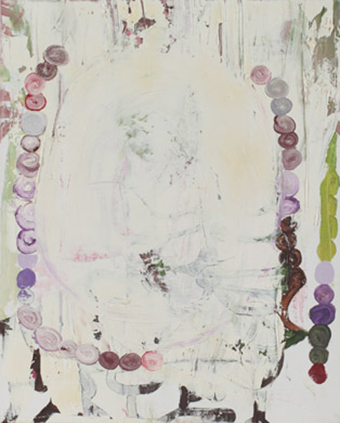 Grenadine Painting - Simultan, huile sur toile, 52 x 42 cm