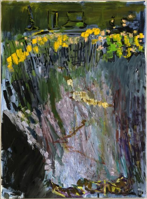 Sans titre, 2010, huile sur toile, 200 x 145 cm