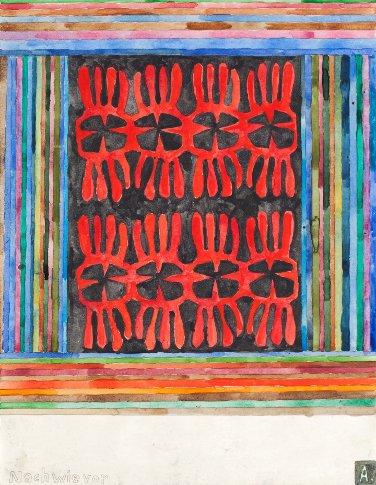 Martin Assig, Saint Paul # 278, 2012, aquarelle et cire sur papier, 39,3 x 30,5 cm