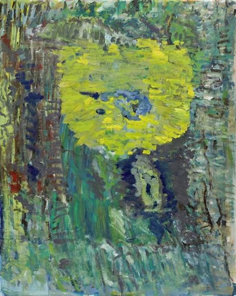 Sans titre, 2013, huile sur toile, 200 x 160 cm