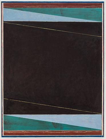 Pius Fox, Sans titre, 2016, huile sur toile, 130 x 100 cm