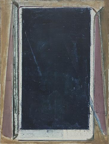 Pius Fox, Sans titre, 2011, huile sur papier, 40 x 30cm