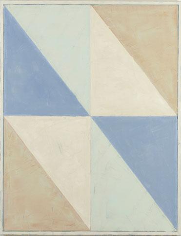 Pius Fox, Schattenspiegelung, 2013, huile sur toile, 130 x 100 cm
